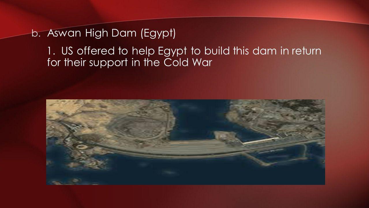 Aswan High Dam (Egypt) 1.
