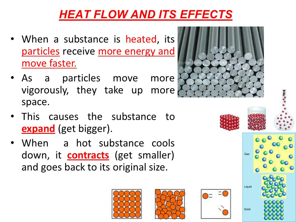 HEAT FLOW AND ITS EFFECTS
