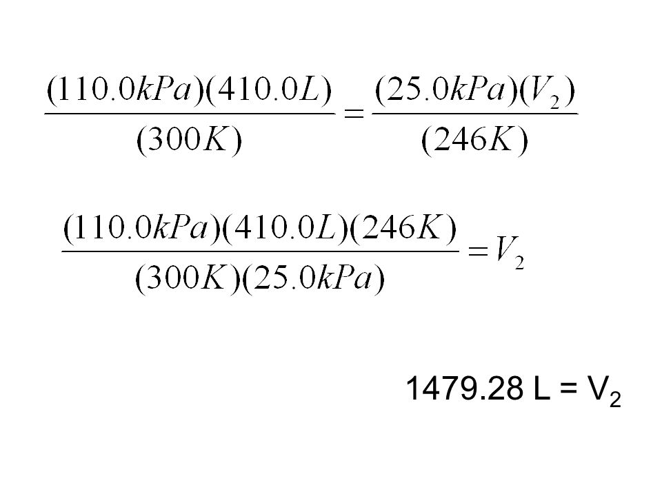 1479.28 L = V2