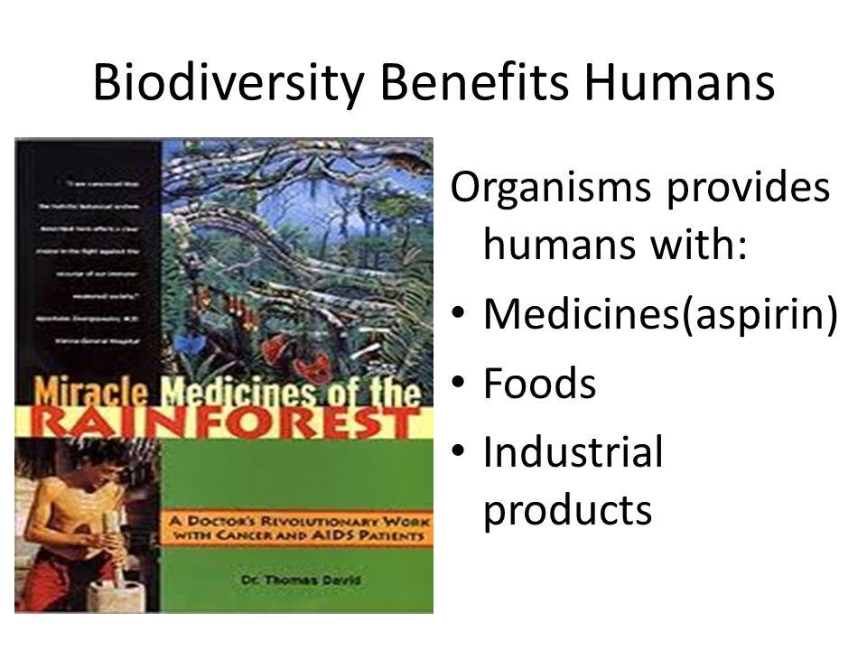 Biodiversity Benefits Humans
