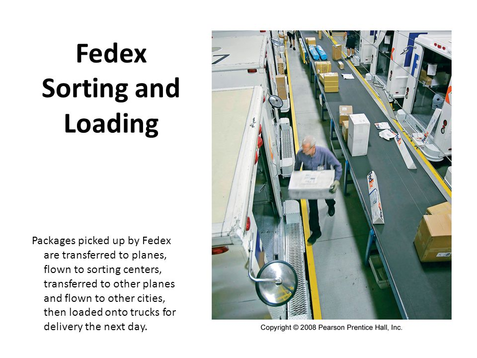Fedex Sorting and Loading