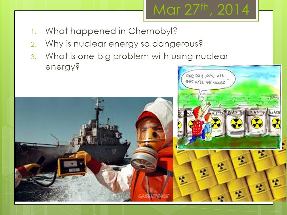Mar 27th, 2014 What happened in Chernobyl