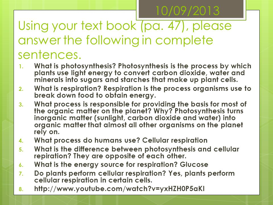 10/09/2013 Using your text book (pa