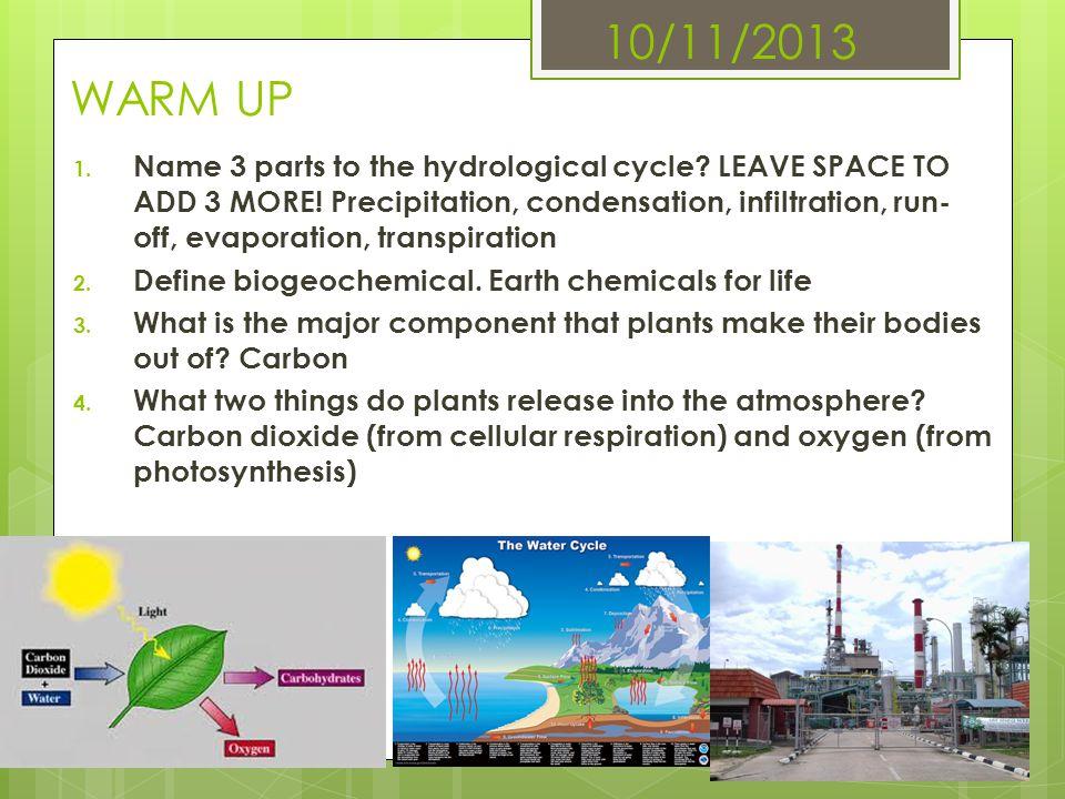 10/11/2013 WARM UP