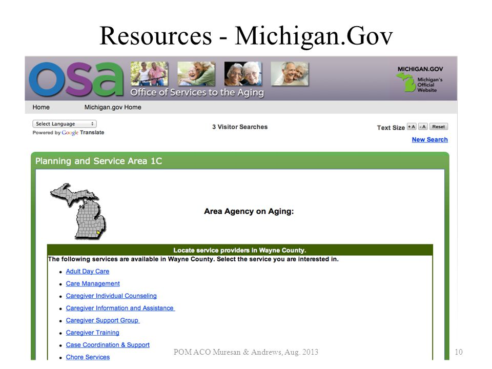 Resources - Michigan.Gov