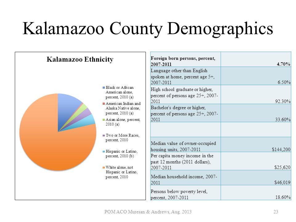 Kalamazoo County Demographics