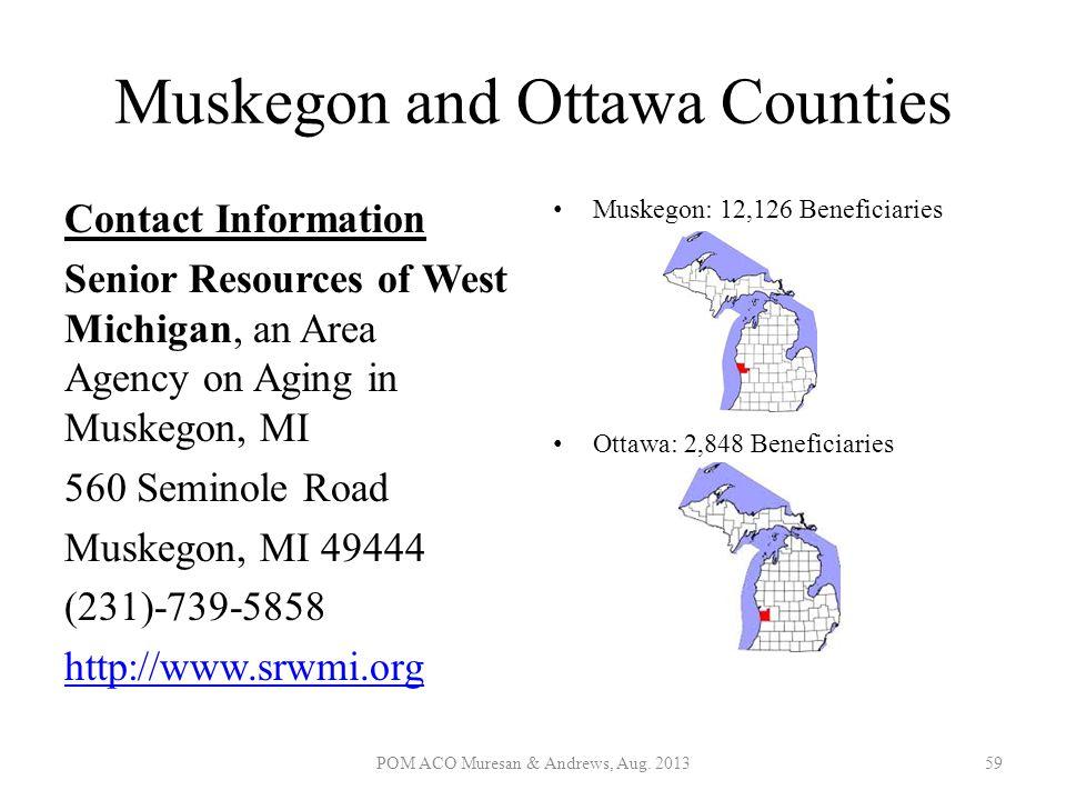 Muskegon and Ottawa Counties