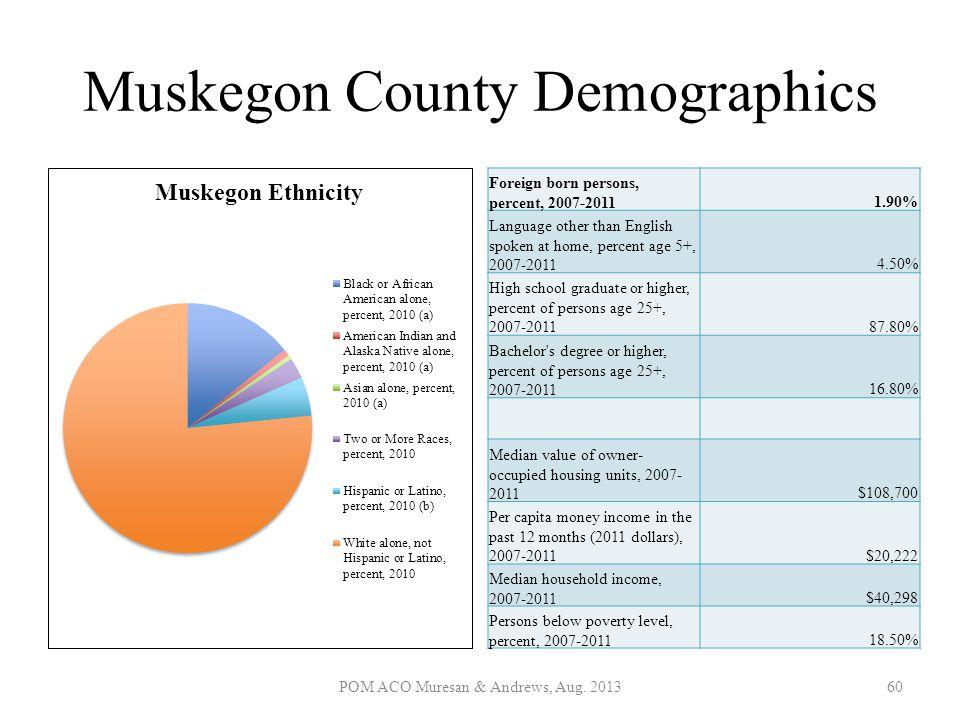 Muskegon County Demographics