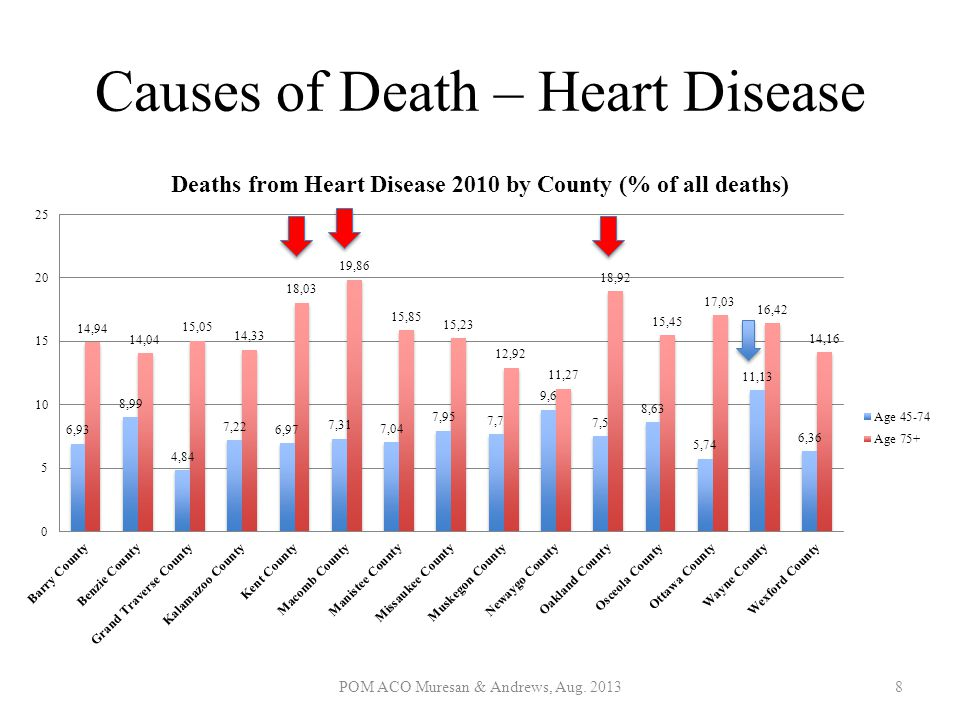 Causes of Death – Heart Disease
