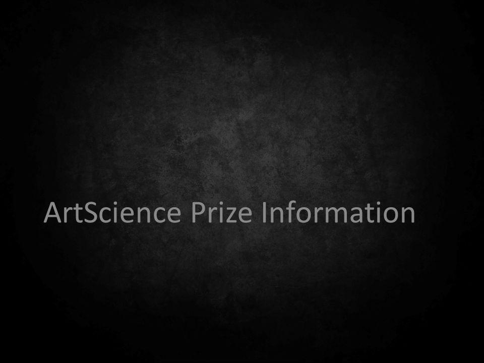 ArtScience Prize Information