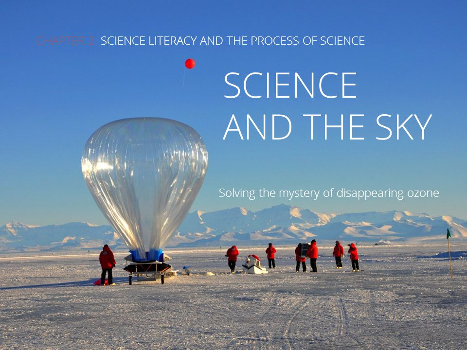 CHAPTER 2 SCIENCE LITERACY AND THE PROCESS OF SCIENCE