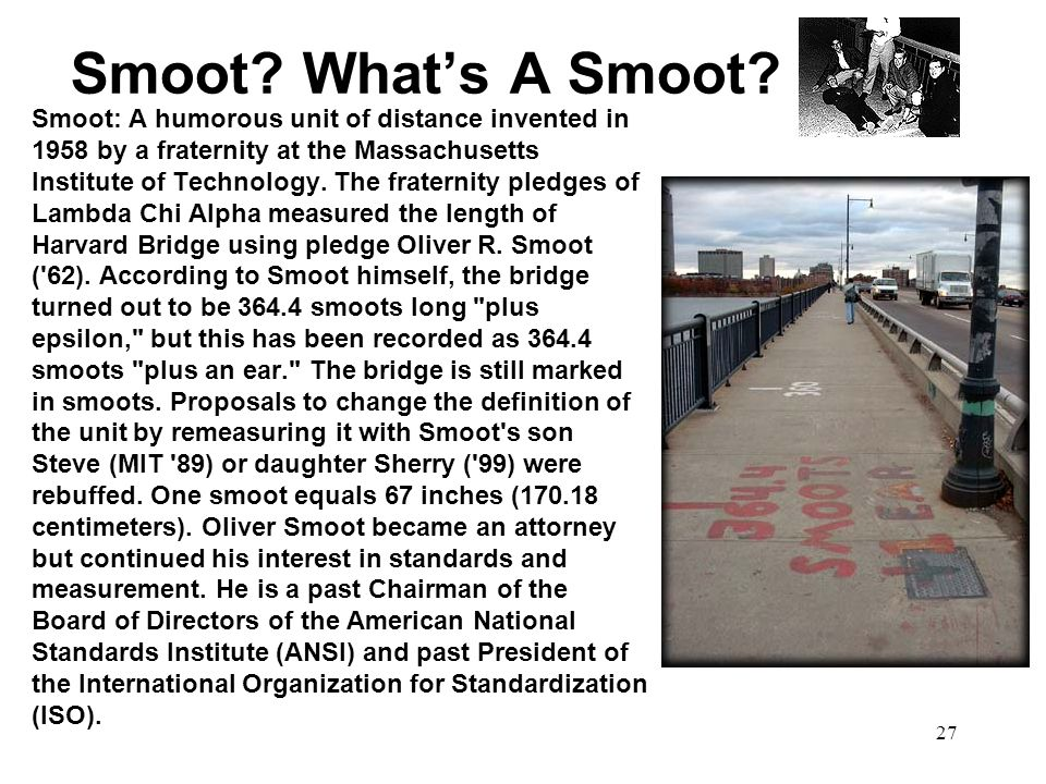 Smoot What's A Smoot