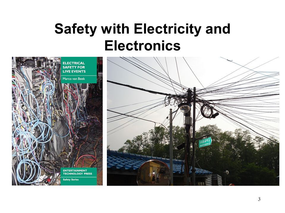 Safety with Electricity and Electronics