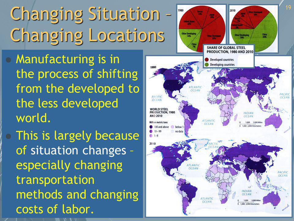 Changing Situation – Changing Locations