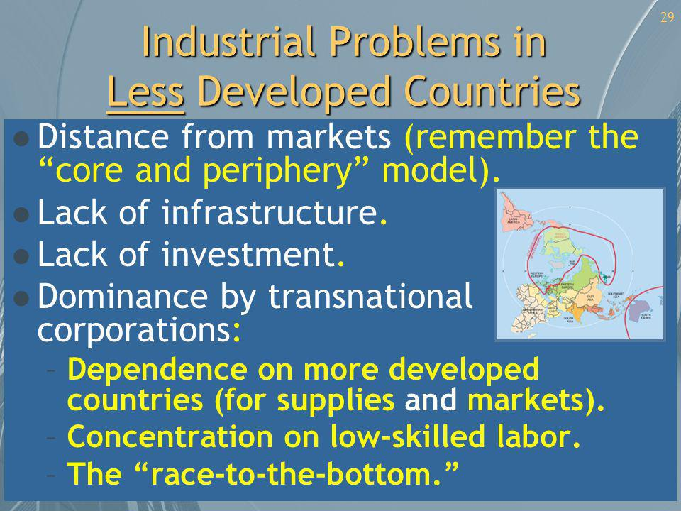 Industrial Problems in Less Developed Countries