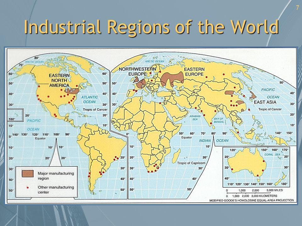 Industrial Regions of the World