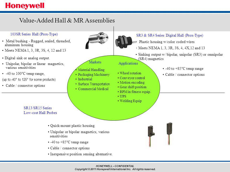 Value-Added Hall & MR Assemblies