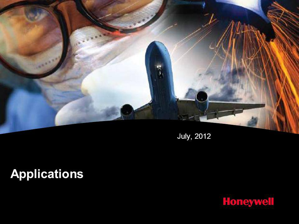 July, 2012 Applications