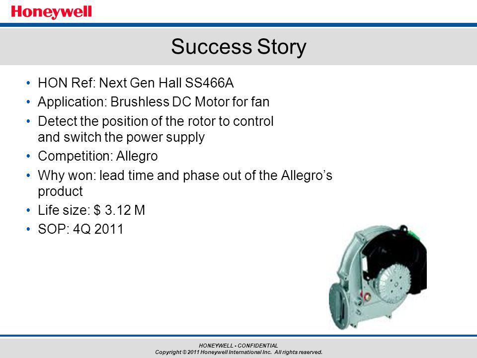 Success Story HON Ref: Next Gen Hall SS466A