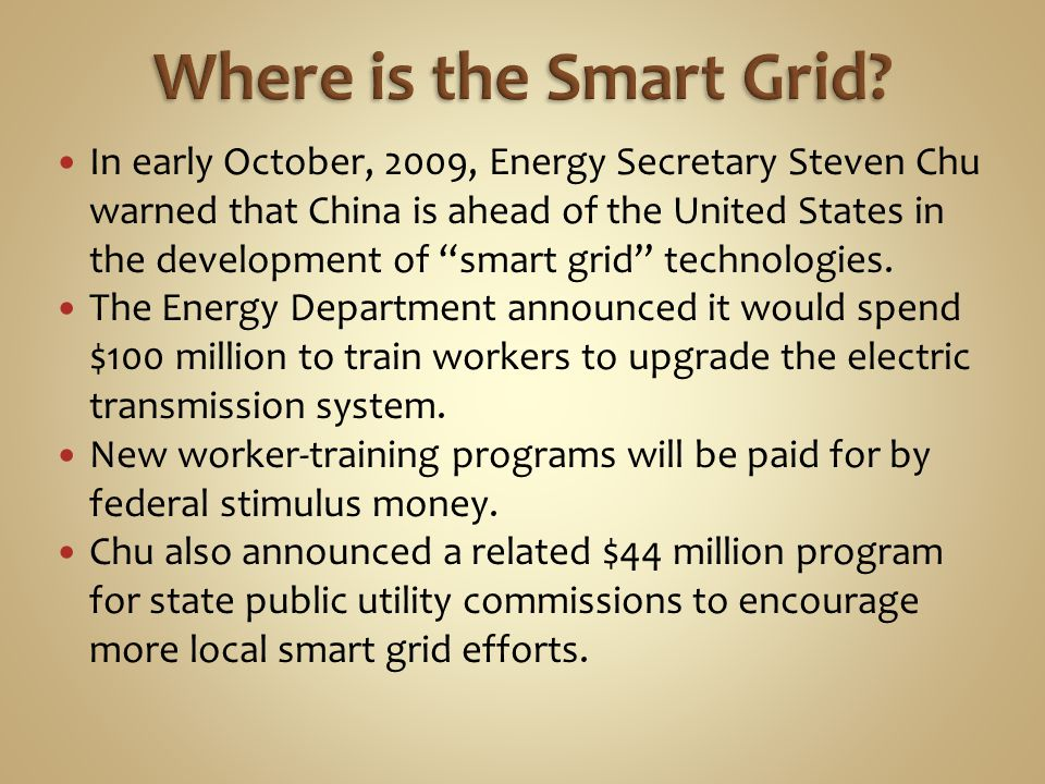 Where is the Smart Grid