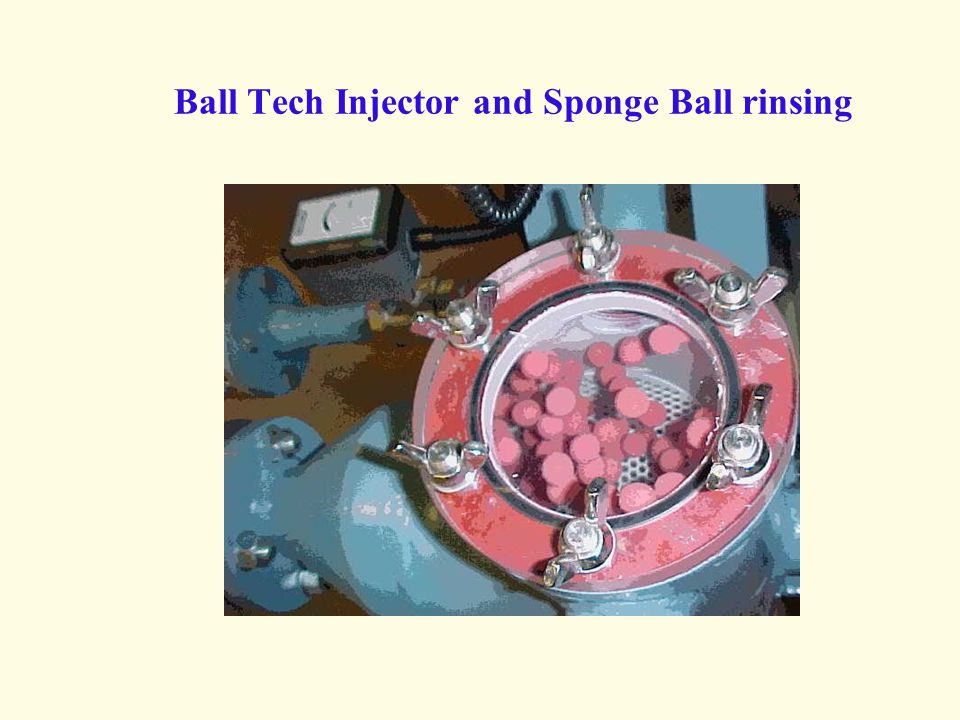 Ball Tech Injector and Sponge Ball rinsing