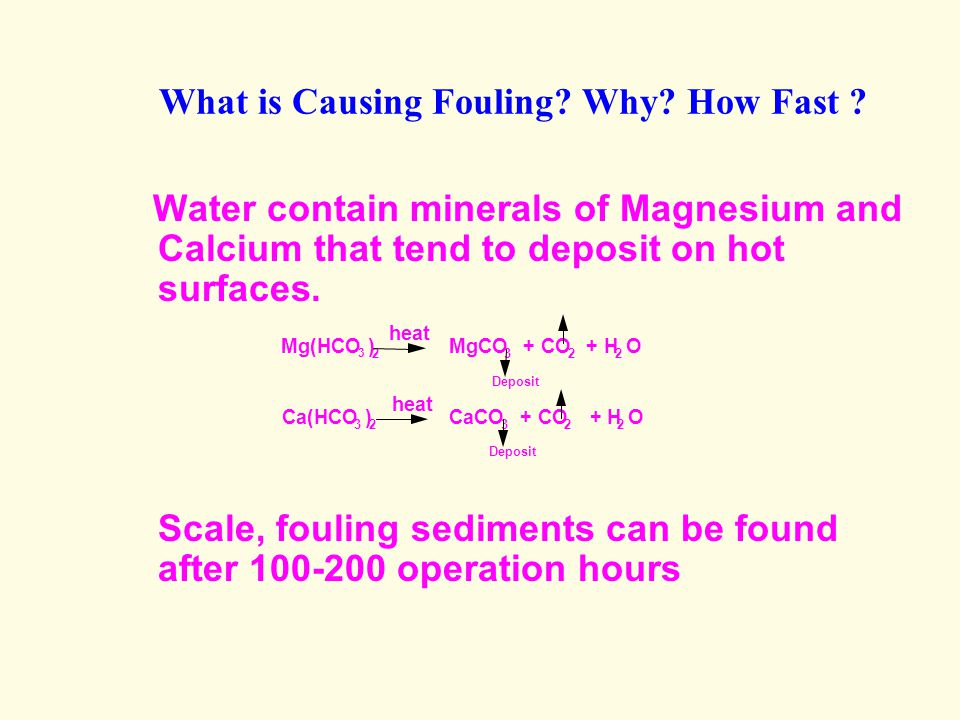 What is Causing Fouling Why How Fast