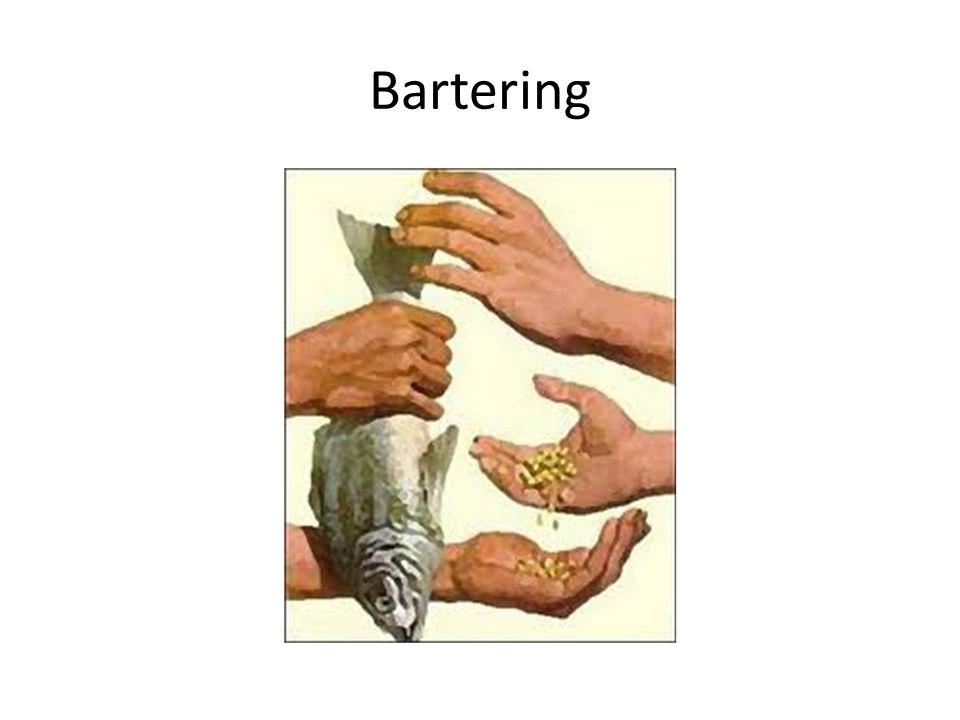 Bartering