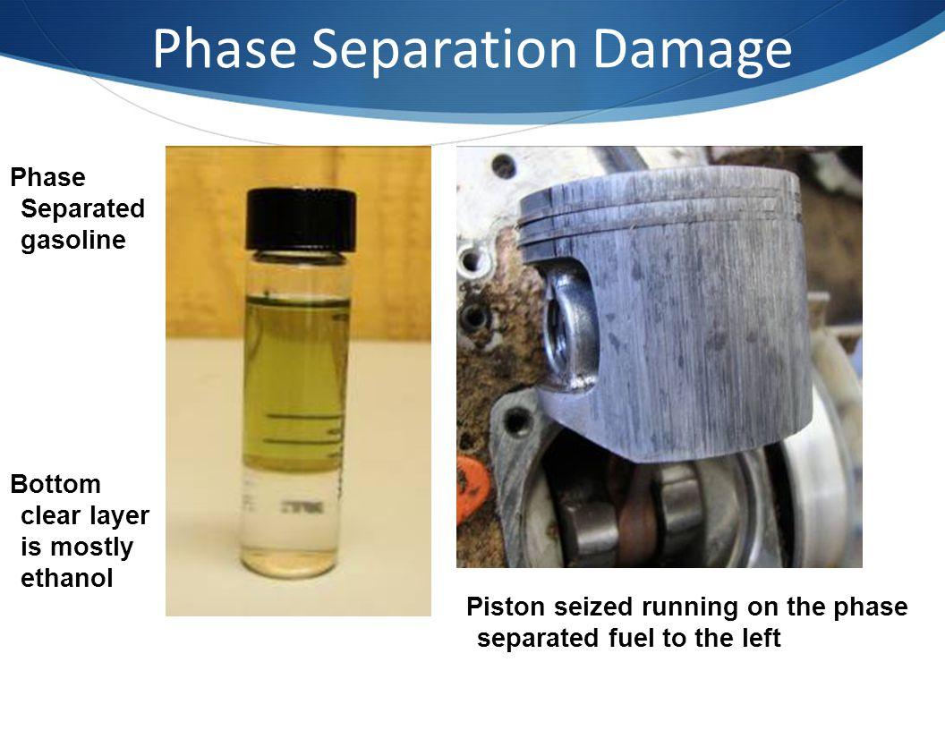 Phase Separation Damage