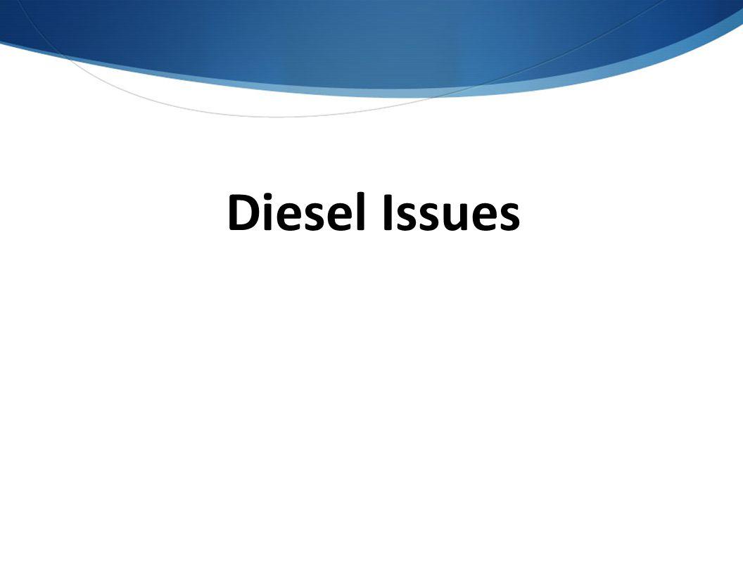 Diesel Issues