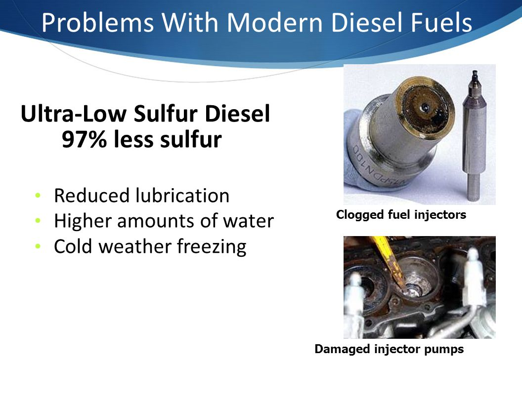 Problems With Modern Diesel Fuels