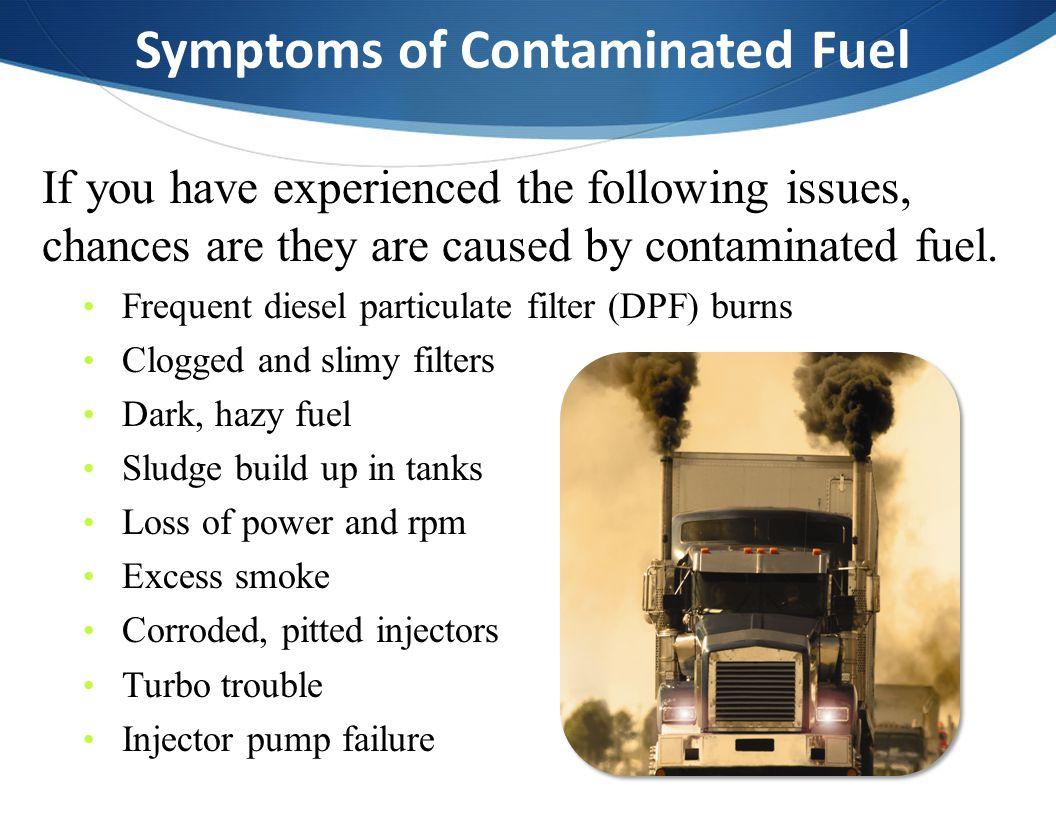 Symptoms of Contaminated Fuel