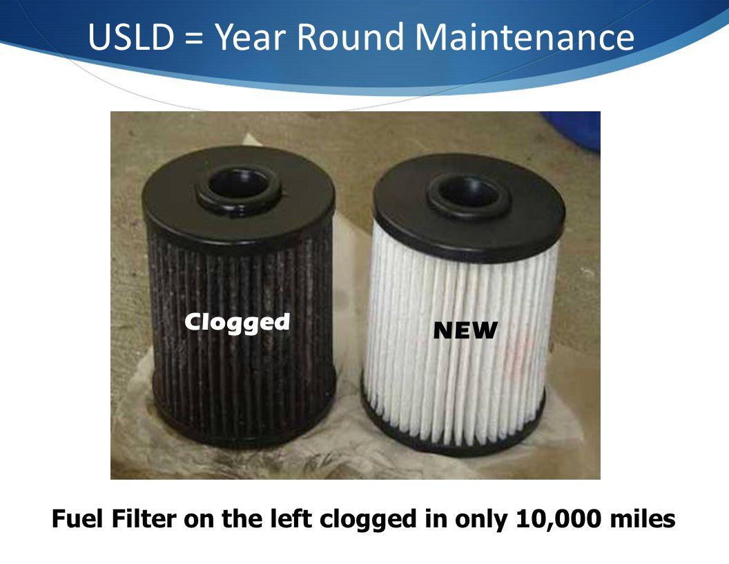 USLD = Year Round Maintenance