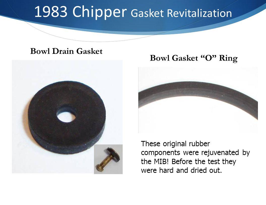 1983 Chipper Gasket Revitalization