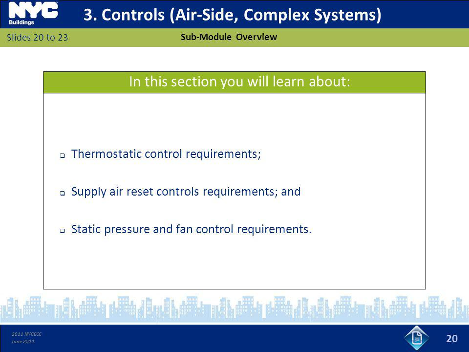3. Controls (Air-Side, Complex Systems)