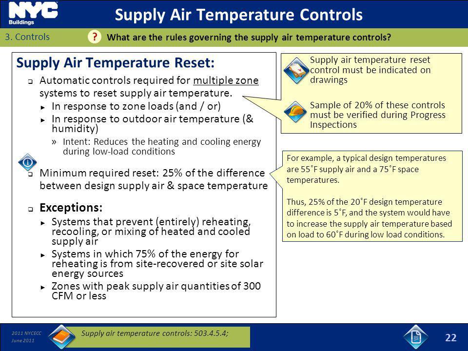 Supply Air Temperature Controls