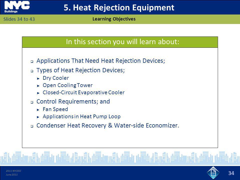 5. Heat Rejection Equipment