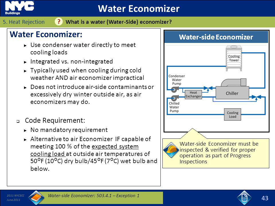 Water-side Economizer