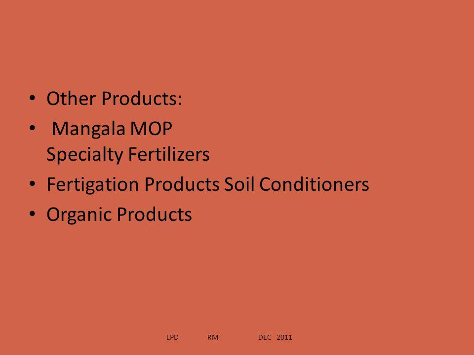 Mangala MOP Specialty Fertilizers