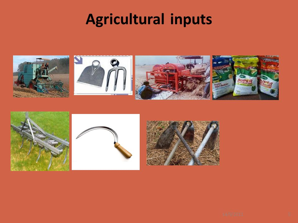Agricultural inputs 14/9/2011