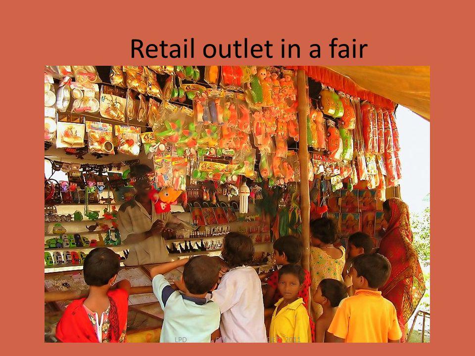 Retail outlet in a fair LPD RM DEC 2011