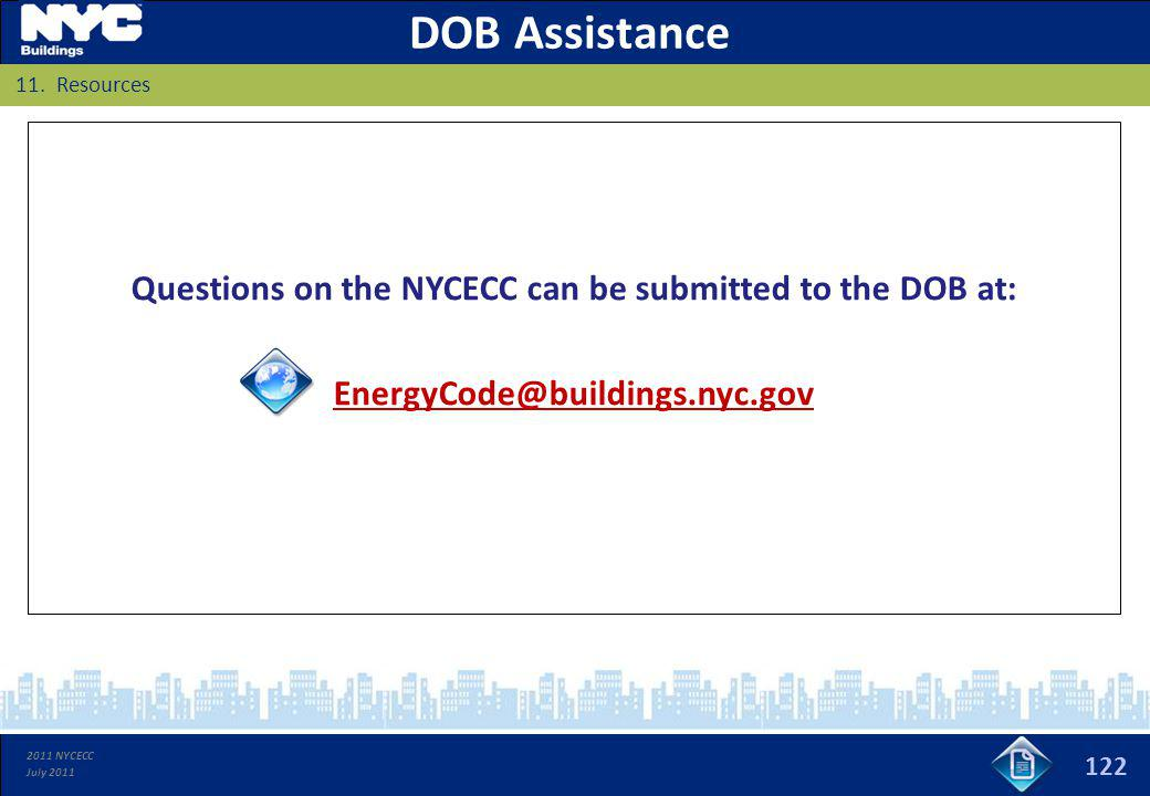 Questions on the NYCECC can be submitted to the DOB at: