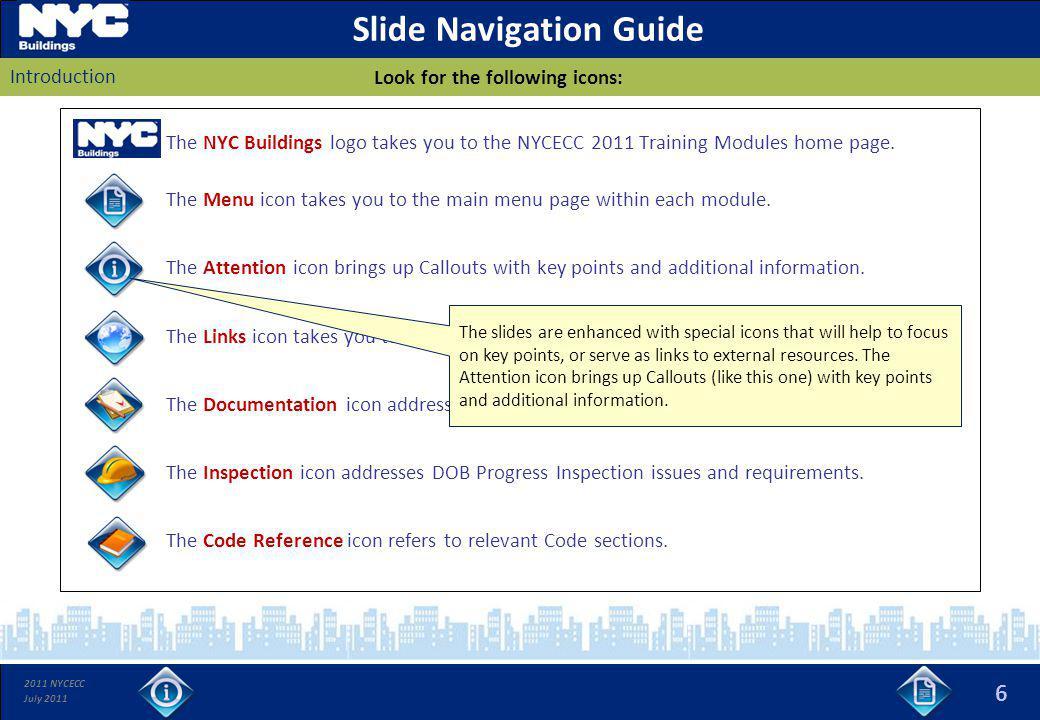 Slide Navigation Guide