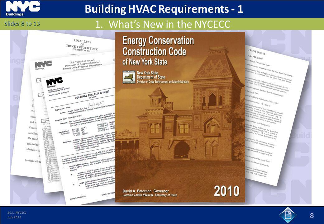 Building HVAC Requirements - 1