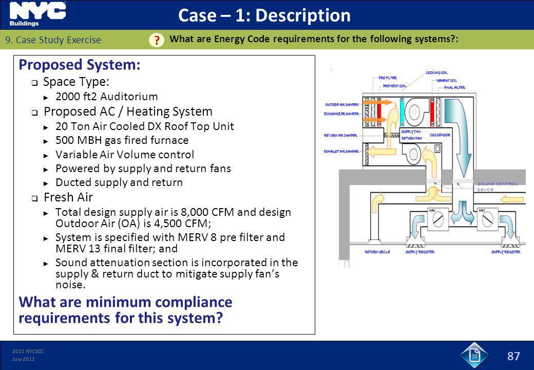 Case – 1: Description Proposed System: