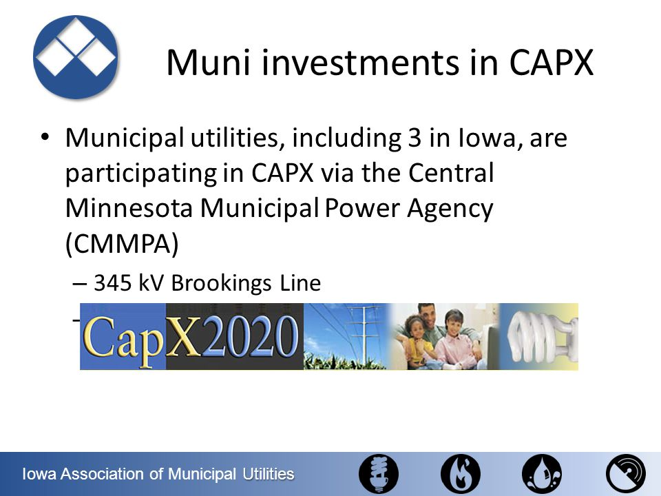 Muni investments in CAPX