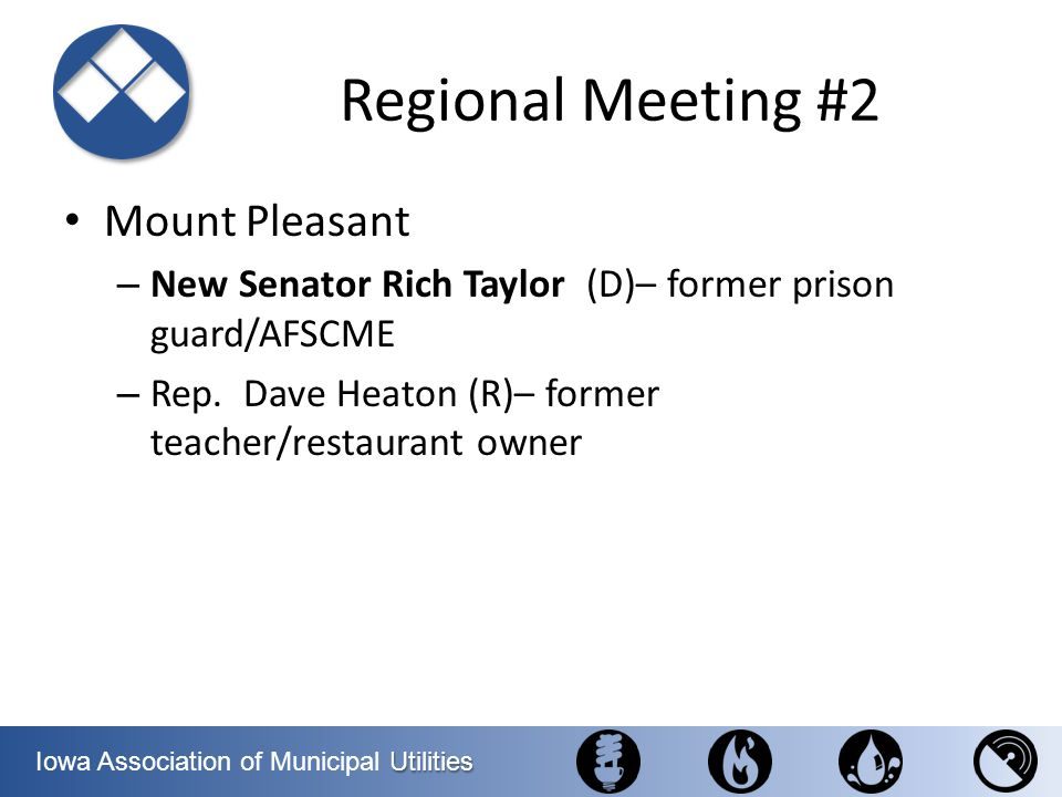 Regional Meeting #2 Mount Pleasant