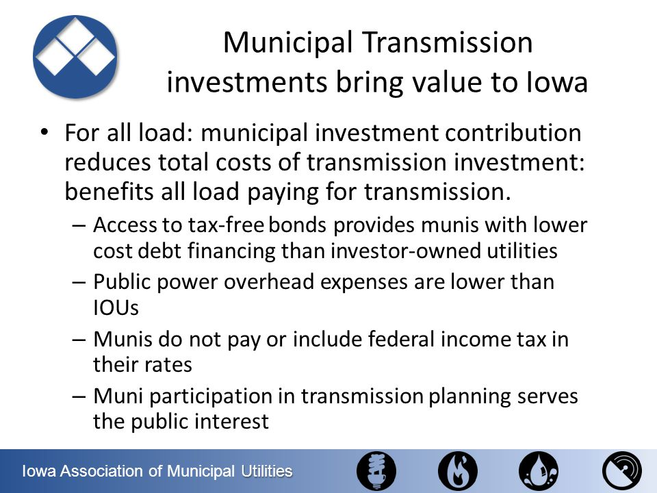 Municipal Transmission investments bring value to Iowa