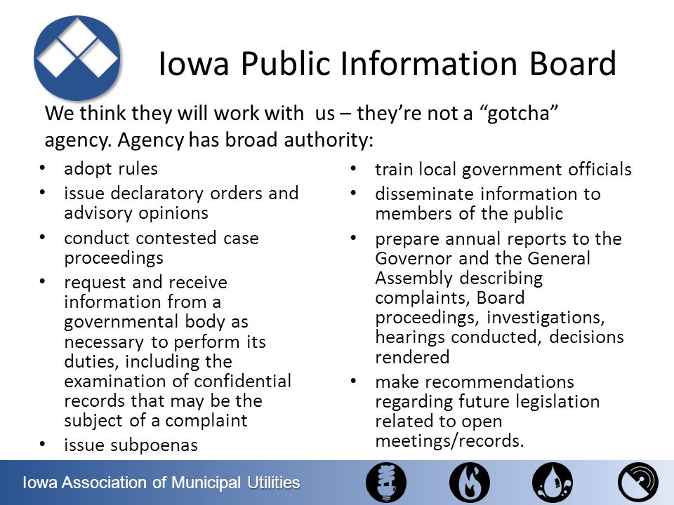 Iowa Public Information Board