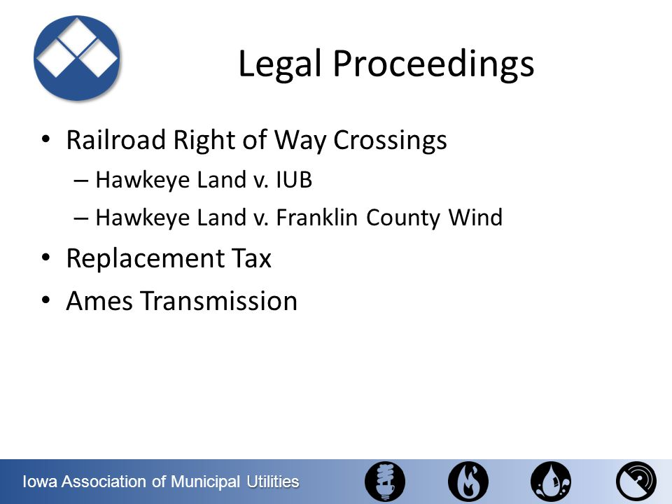 Legal Proceedings Railroad Right of Way Crossings Replacement Tax