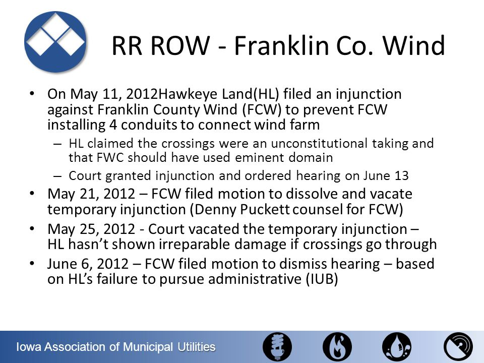 RR ROW - Franklin Co. Wind